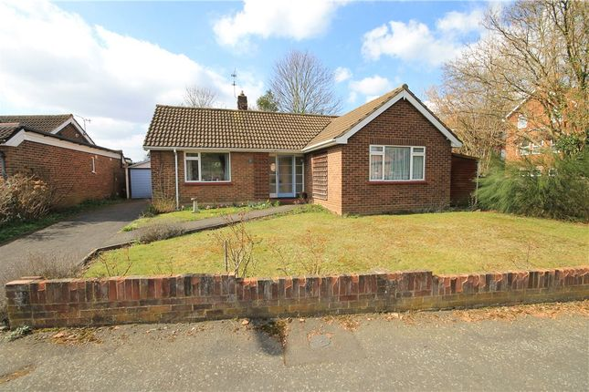 Thumbnail Detached bungalow for sale in Summerfield Close, Addlestone, Surrey