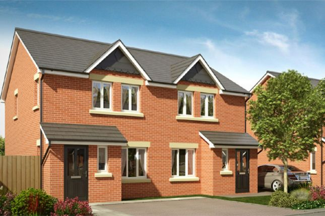 Thumbnail Semi-detached house for sale in Greenwood Mews, Horwich, Bolton, Lancashire
