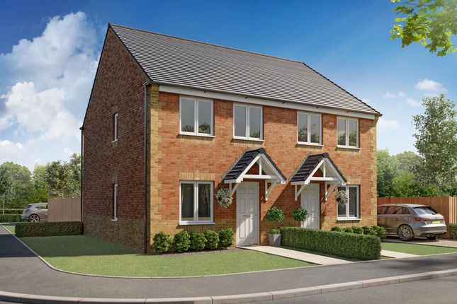 "Thumbnail Semi-detached house for sale in ""Lisburn"" at Durham Road, Middlestone Moor, Spennymoor"