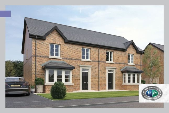Thumbnail Semi-detached house for sale in Drumford Close, Kernan Hill Road, Portadown