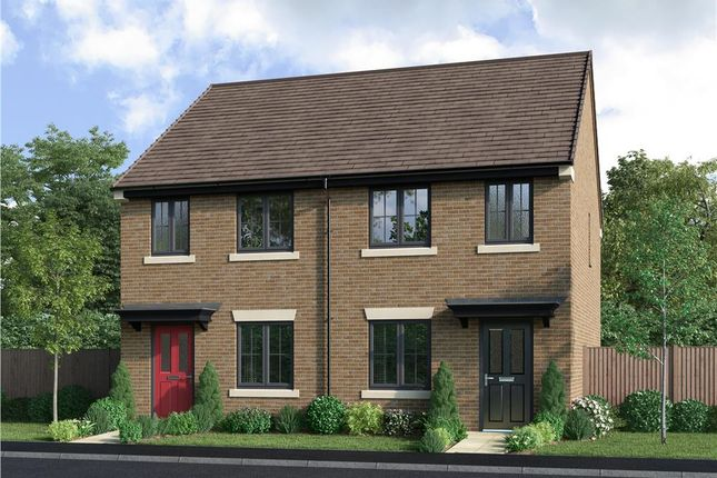 "2 bed semi-detached house for sale in ""The Marchmont"" at Coach Lane, Hazlerigg, Newcastle Upon Tyne NE13"