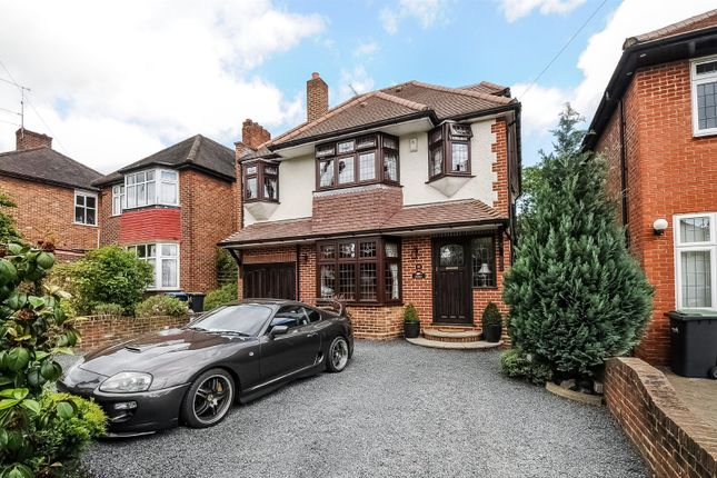 Thumbnail Detached house for sale in Oakwood Park Road, Southgate, London