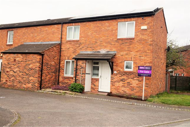 Thumbnail End terrace house for sale in Leicester Way, Leegomery Telford