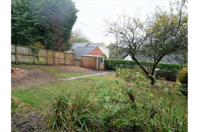 Garden of Farley Road, Oakamoor, Staffordshire ST10