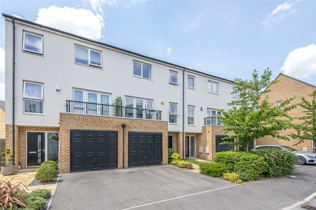 Thumbnail Detached house for sale in Hawker Drive, Addlestone