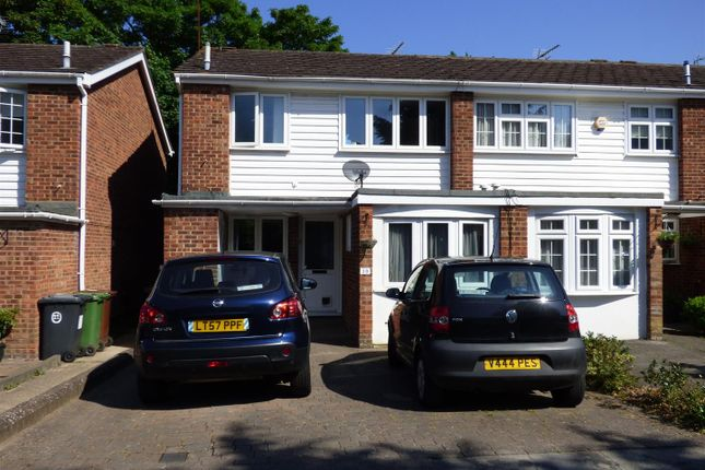 Thumbnail Semi-detached house for sale in Holme Park, Borehamwood