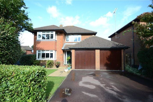 Thumbnail Detached house for sale in Derbyshire Green, Warfield, Bracknell
