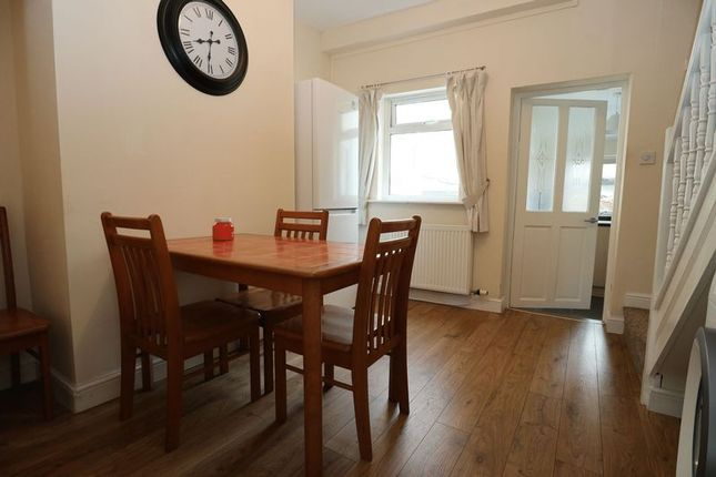 Dining Room of Paradise Street, Macclesfield SK11
