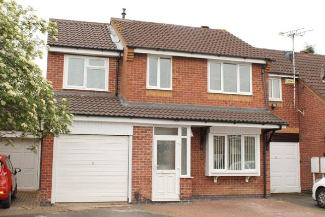 Thumbnail 5 bed semi-detached house for sale in Larchwood Close, Leicester, Leicestershire