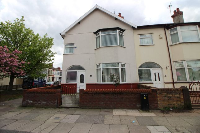 Thumbnail End terrace house for sale in Queens Drive, Stoneycroft, Liverpool, Merseyside