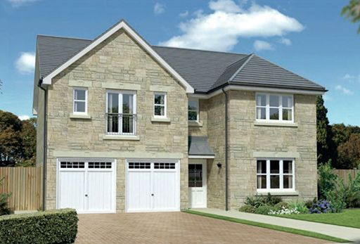 "Thumbnail Detached house for sale in ""Kingsmoor"" at Harrowslaw Drive, Hamilton"
