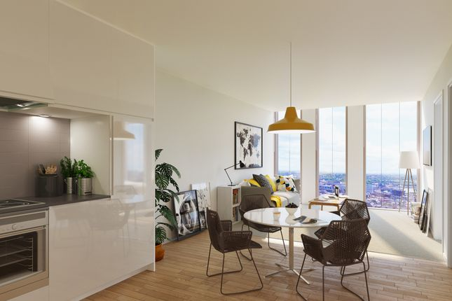 Thumbnail Flat for sale in St. James' Boulevard, Newcastle Upon Tyne