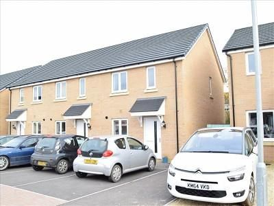 Thumbnail End terrace house for sale in Swanmead Drive, Ilminster
