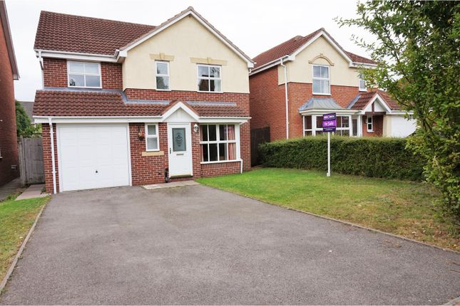 Thumbnail Detached house for sale in Caliban Mews, Warwick