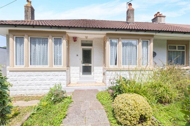 Thumbnail Semi-detached bungalow for sale in Upper Bristol Road, Weston-Super-Mare