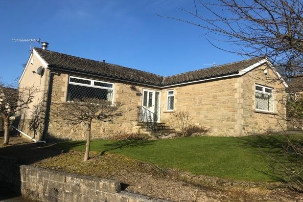 Thumbnail Detached bungalow to rent in Gledhow Drive, Oxenhope, Keighley