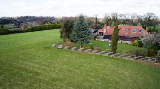 Thumbnail Equestrian property for sale in New Road Hill, Downe, Orpington