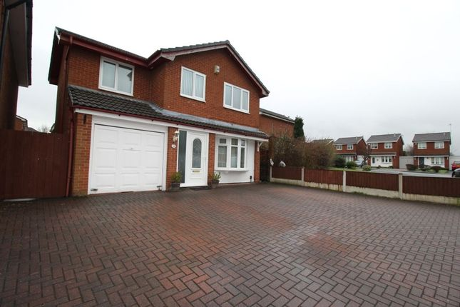 Thumbnail Detached house for sale in Pinnington Road, Whiston, Prescot