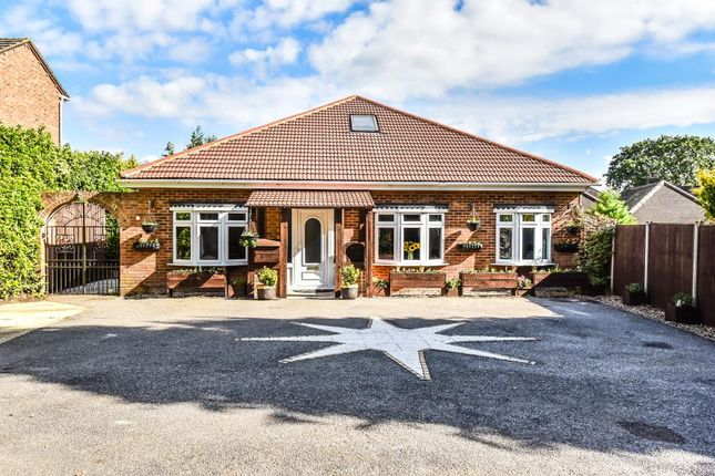 Thumbnail Detached bungalow for sale in Lightwater, Surrey
