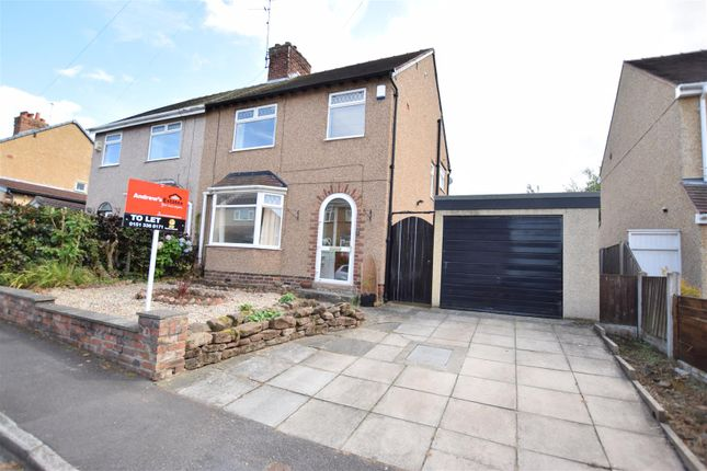 Thumbnail Semi-detached house to rent in Olive Drive, Neston