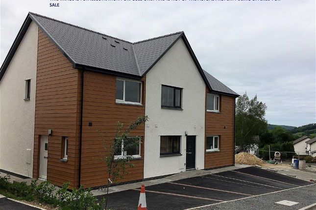 Thumbnail Semi-detached house for sale in Ger-Y-Cwm Development, Aberystwyth, Ceredigion