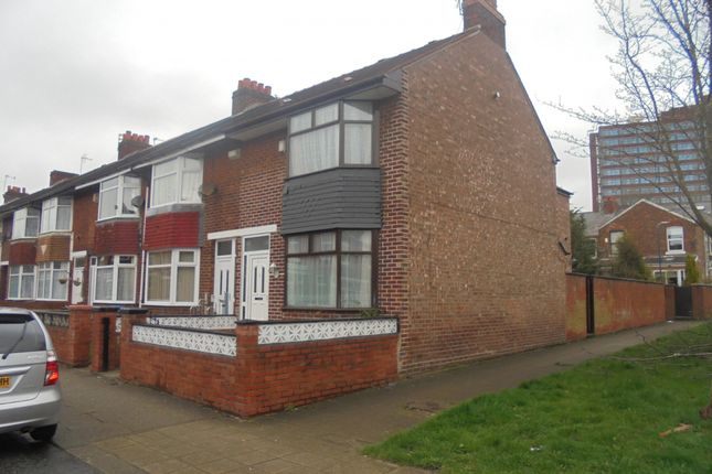 Thumbnail End terrace house for sale in Humphrey Road, Manchester