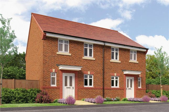 "Thumbnail Semi-detached house for sale in ""Hawthorne"" at Rykneld Road, Littleover, Derby"