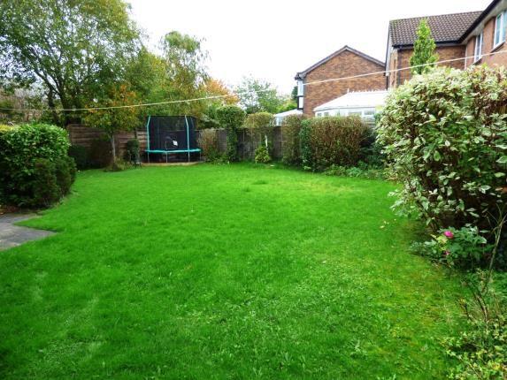 Rear Garden of Broadwood Close, Disley, Stockport, Cheshire SK12