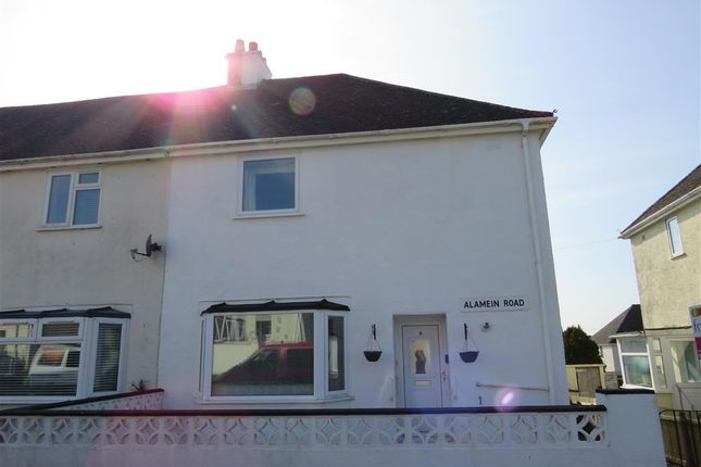 Thumbnail Property to rent in Alamein Road, Saltash