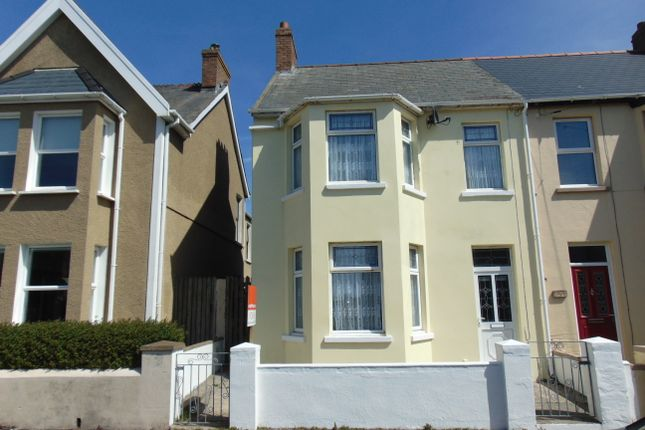 Thumbnail Semi-detached house for sale in Wellington Road, Hakin, Milford Haven