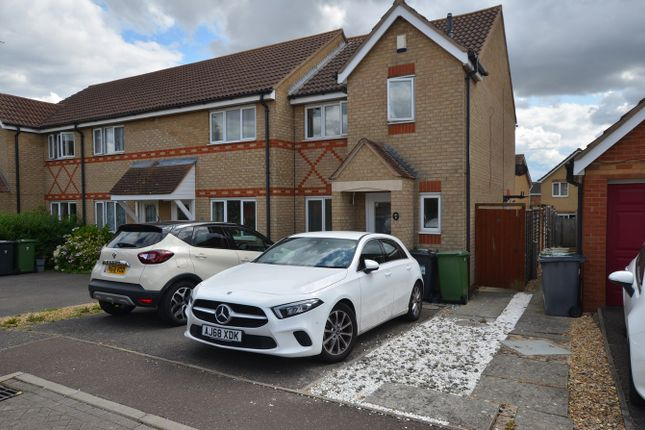 Thumbnail End terrace house to rent in Middleham Close, Peterborough
