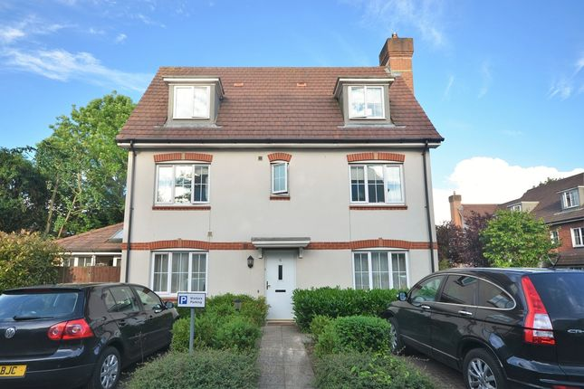 Thumbnail 4 bed end terrace house to rent in Hartington Close, Reigate Hill, Reigate