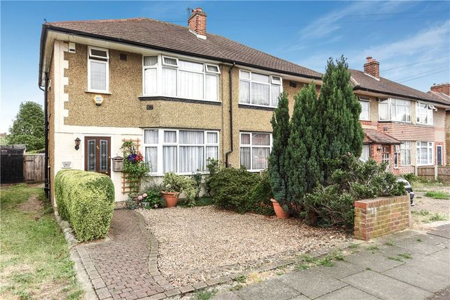 Thumbnail Semi-detached house for sale in West Road, Bedfont, Feltham