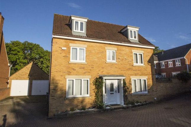 Thumbnail Detached house to rent in Vernier Crescent, Medbourne, Milton Keynes