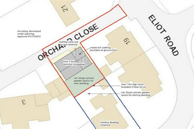 Thumbnail Land for sale in Orchard Close, St Austell, Cornwall
