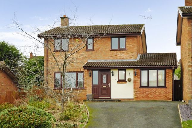 Thumbnail Detached house for sale in Ludford Drive, Stirchley, Telford