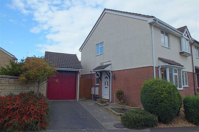 Thumbnail Semi-detached house to rent in Campion Drive, Trowbridge, Wiltshire