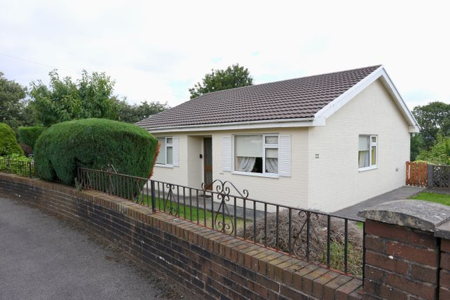 Thumbnail Detached bungalow for sale in Gwaunfarren Close, Penydarren, Merthyr Tydfil