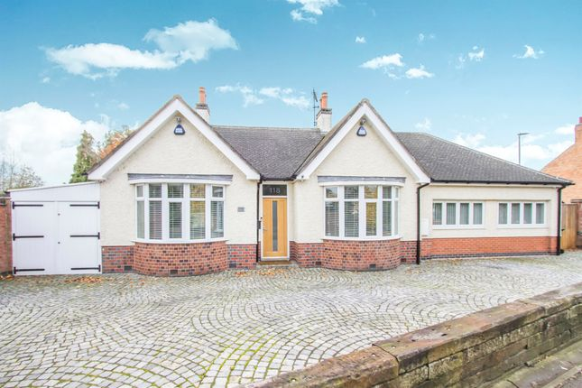 Thumbnail Detached bungalow for sale in Forest Road, Narborough, Leicester