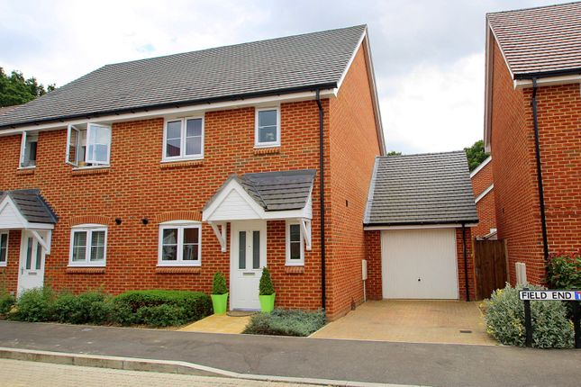 Thumbnail Semi-detached house to rent in Field End, Billingshurst