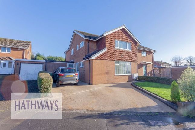 Thumbnail Detached house for sale in Llanyravon Way, Llanyravon, Cwmbran