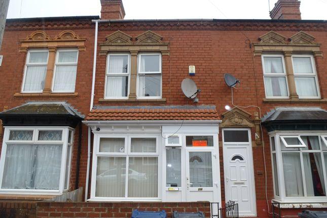 Thumbnail Terraced house for sale in Selsey Road, Edgbaston, Birmingham
