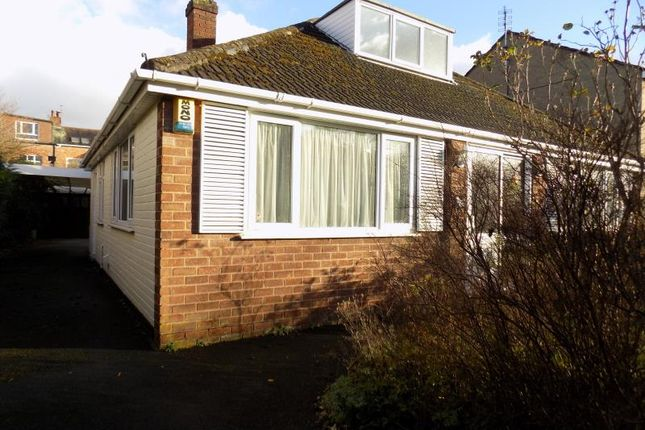 Thumbnail Bungalow to rent in Park Road, Salford