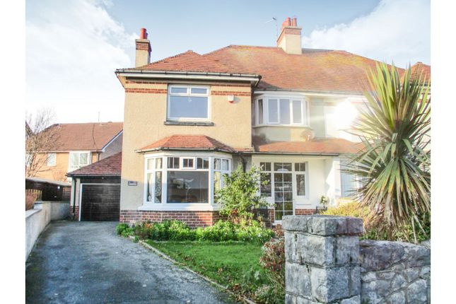 Thumbnail Semi-detached house for sale in The Oval, Llandudno