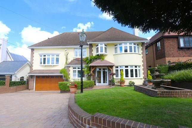 Thumbnail Detached house for sale in Vicarage Hill, Benfleet