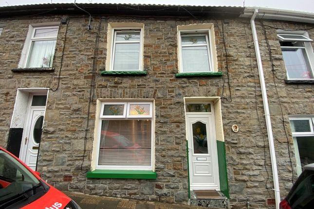 Thumbnail Terraced house for sale in Commercial Street, Blaenllechau -, Ferndale