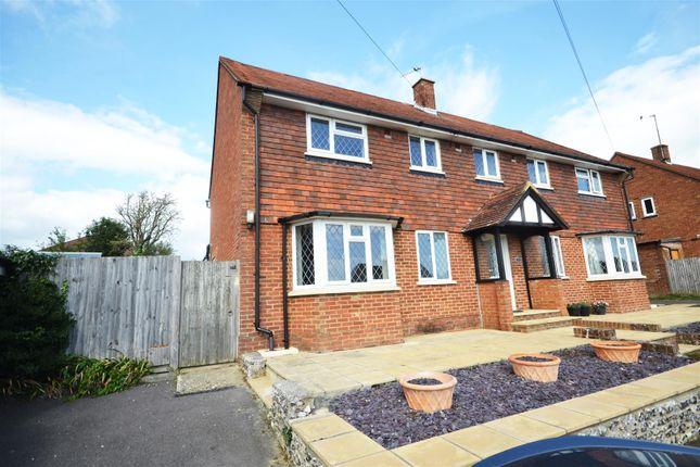 Thumbnail Semi-detached house for sale in Bowley Road, Hailsham