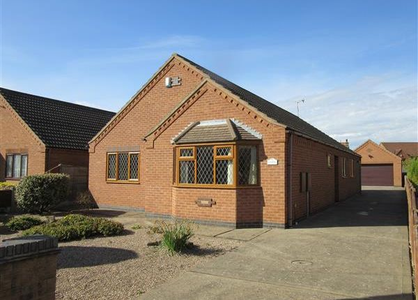 Thumbnail Detached bungalow for sale in 'kenmore' High Street, Scotter, Gainsborough