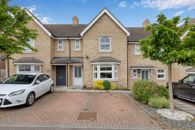 3 bed terraced house for sale in Browning Close, Royston SG8
