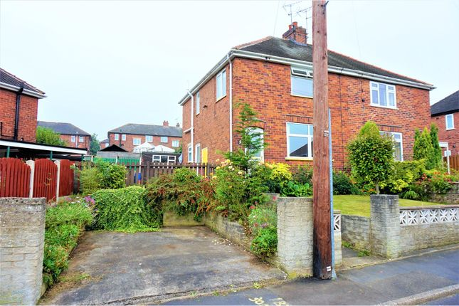 Thumbnail Semi-detached house for sale in Woodlands Avenue, Sheffield